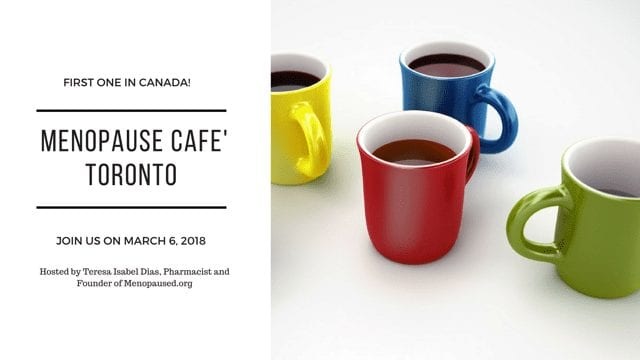 Menopause Café Toronto, March 6th