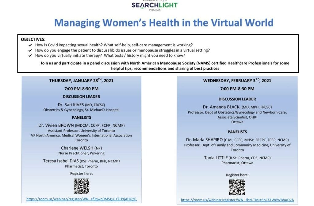 Managing Women's Health in the Virtual World